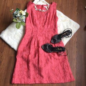 Banana Republic Pink Dress w/Pockets!